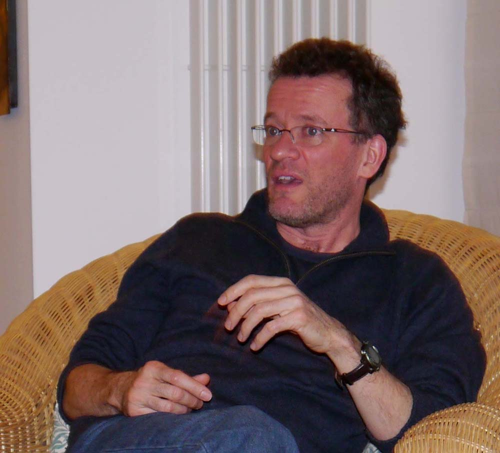 Yann Martel at the Brentor book group