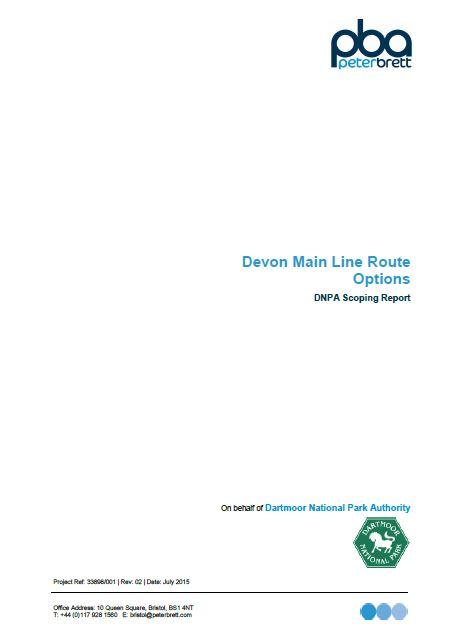 railway scoping report